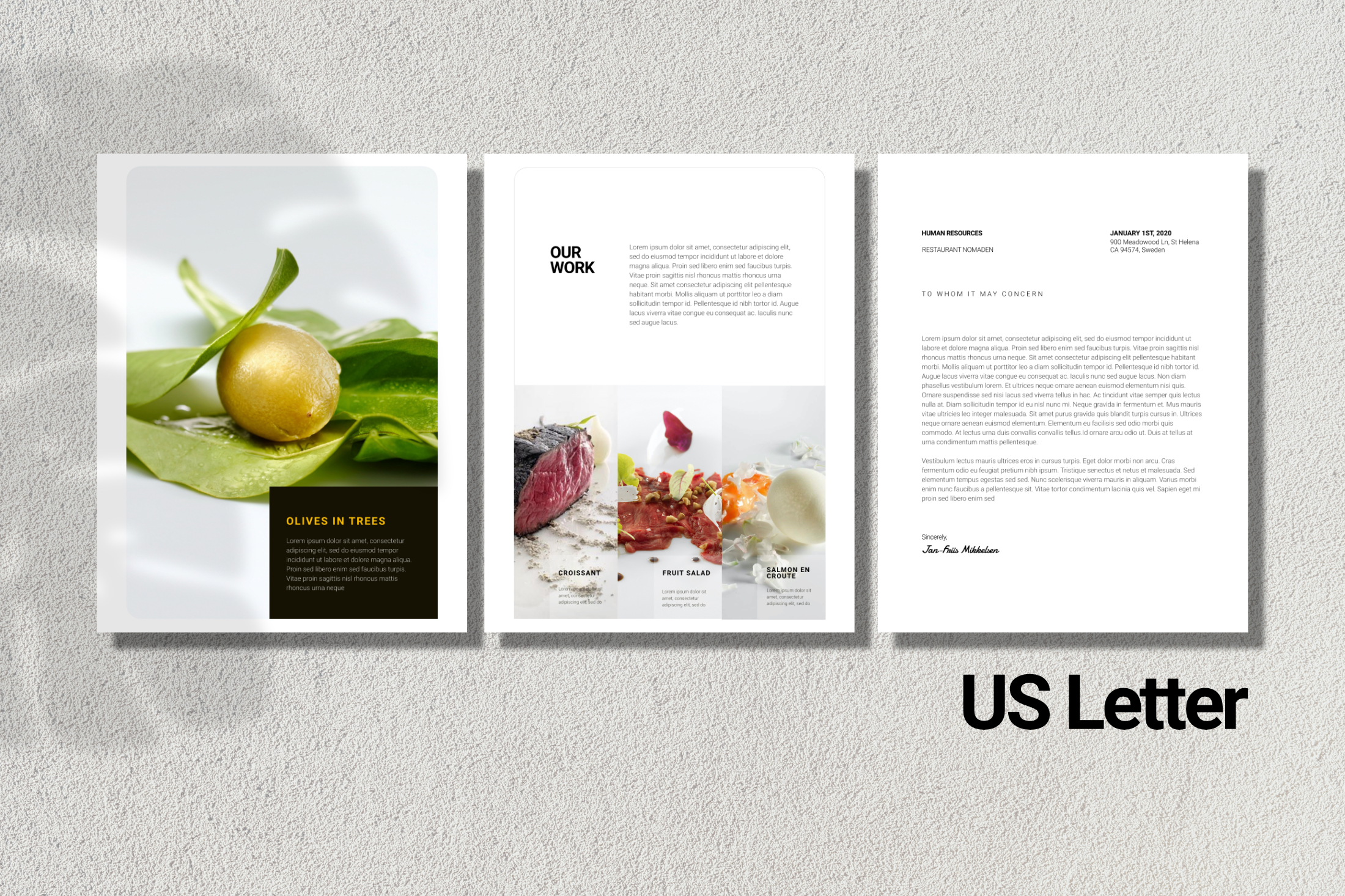 Clean Chef Resume Powerpoint example image 6