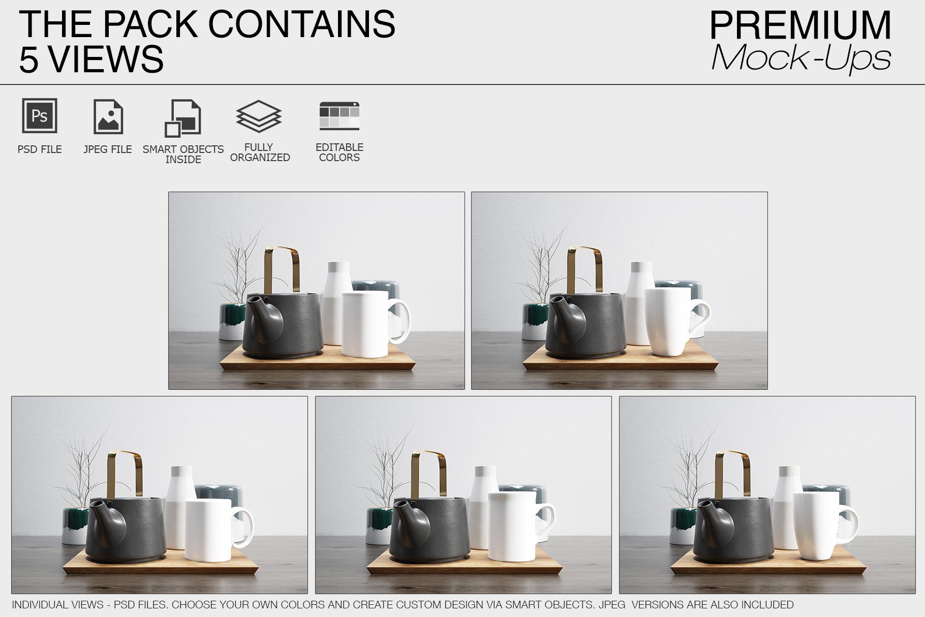 Mug Mockups - Many Shapes example image 7