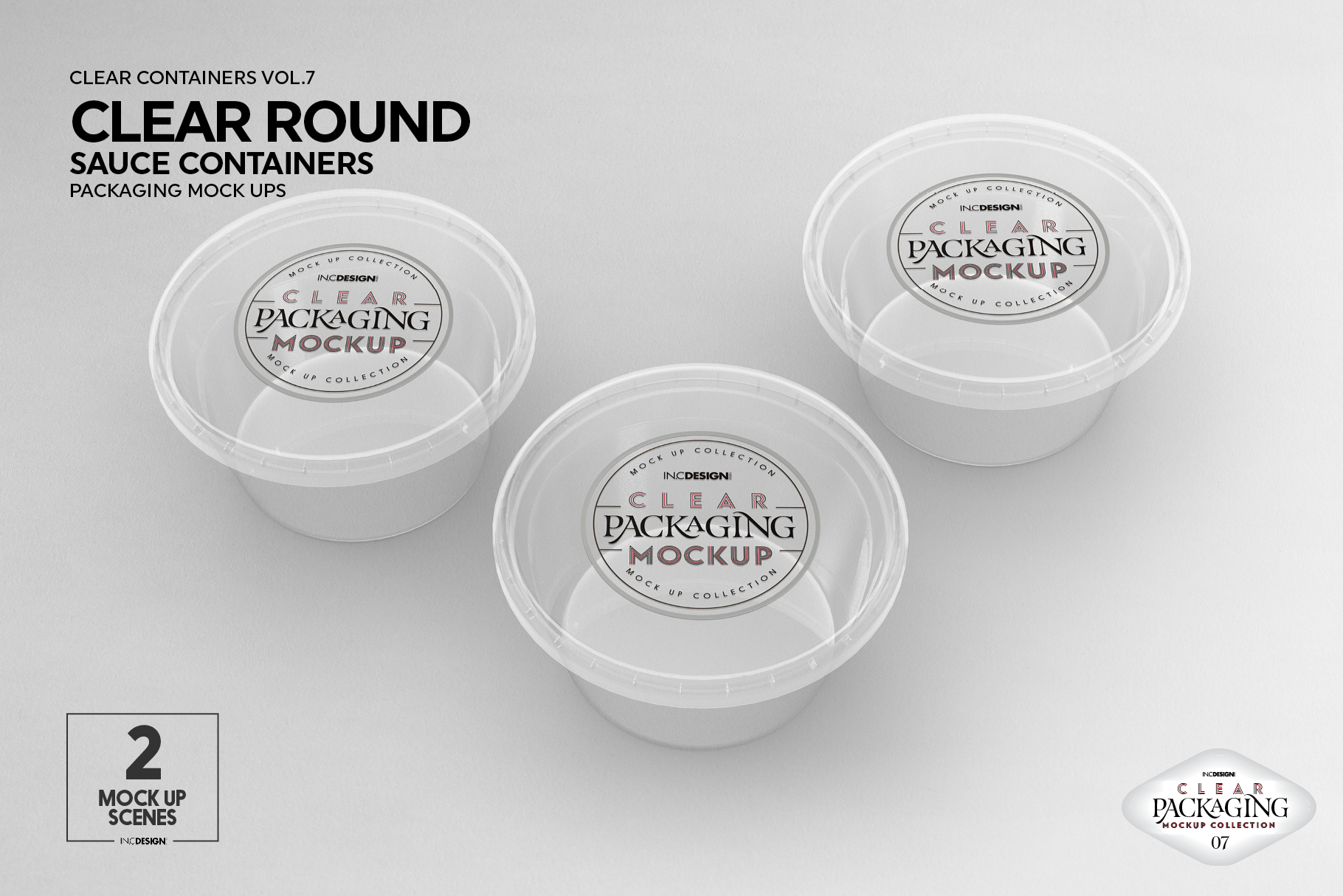 VOL.7 Clear Packaging Mockup Collection example image 2