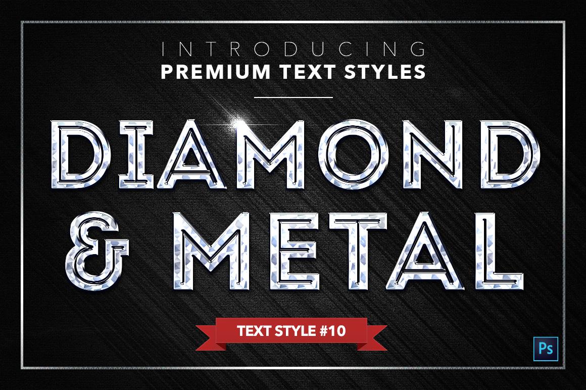 Diamond & Metal #2 - 16 Text Styles example image 11