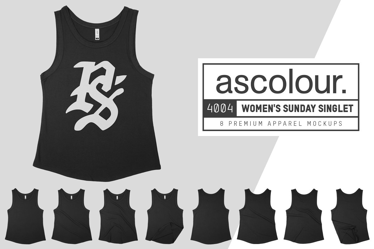 AS Colour 4004 Womens Sunday Singlet example image 1