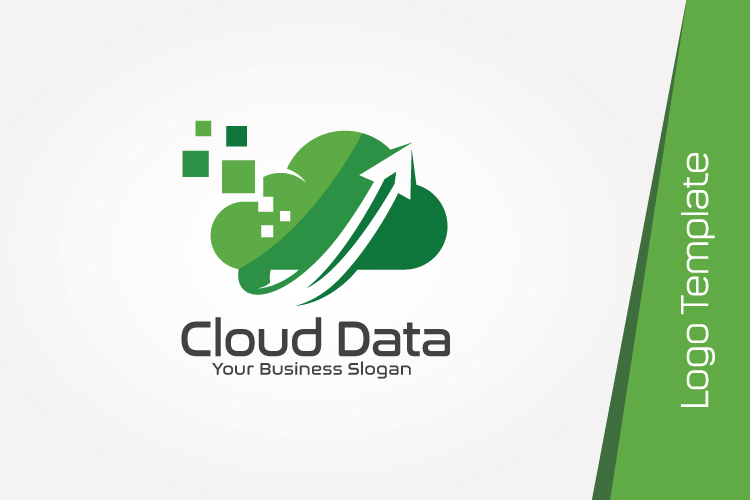 Cloud Data Logo Template example image 4
