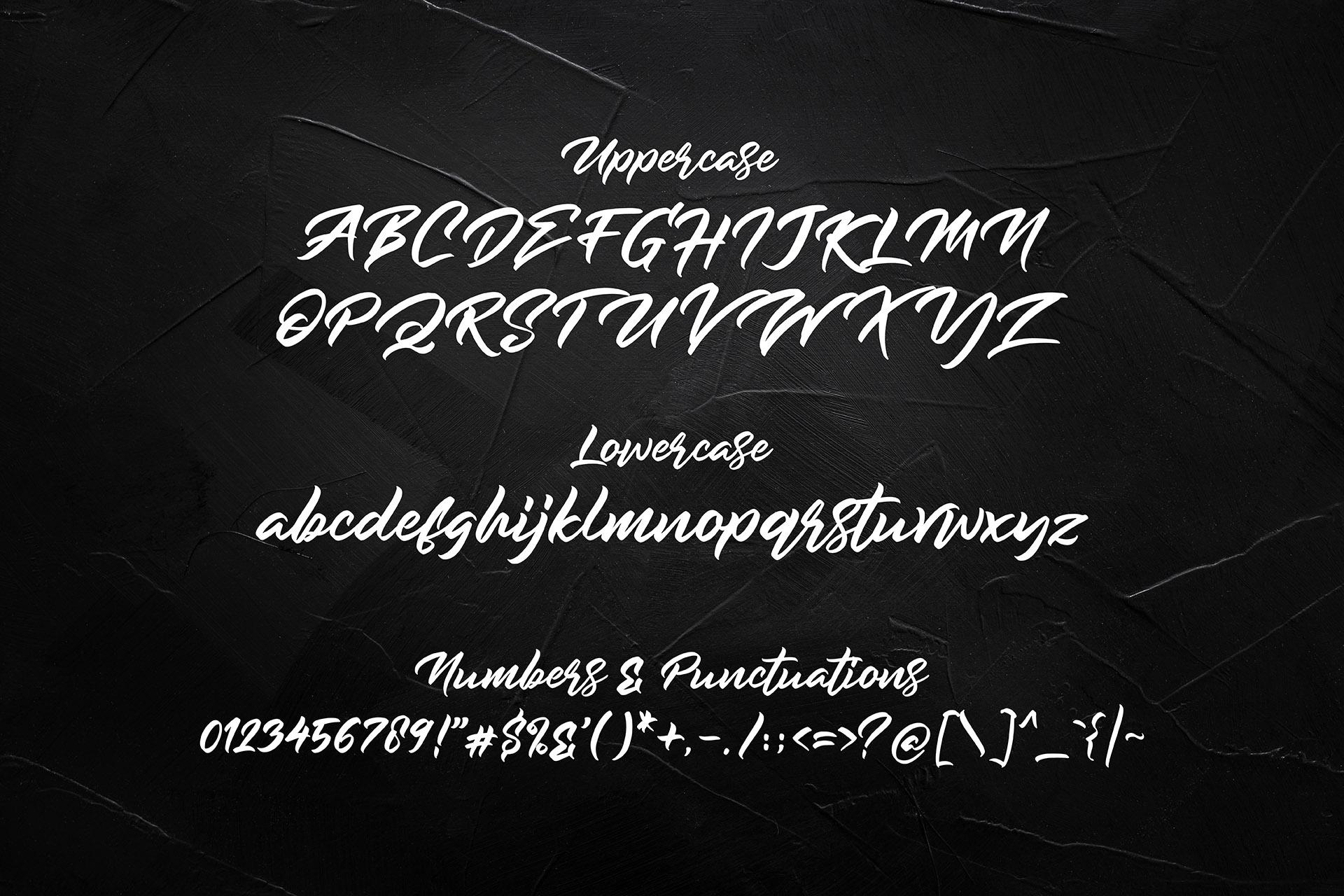Rockmore - Authentic Bold Script example image 11