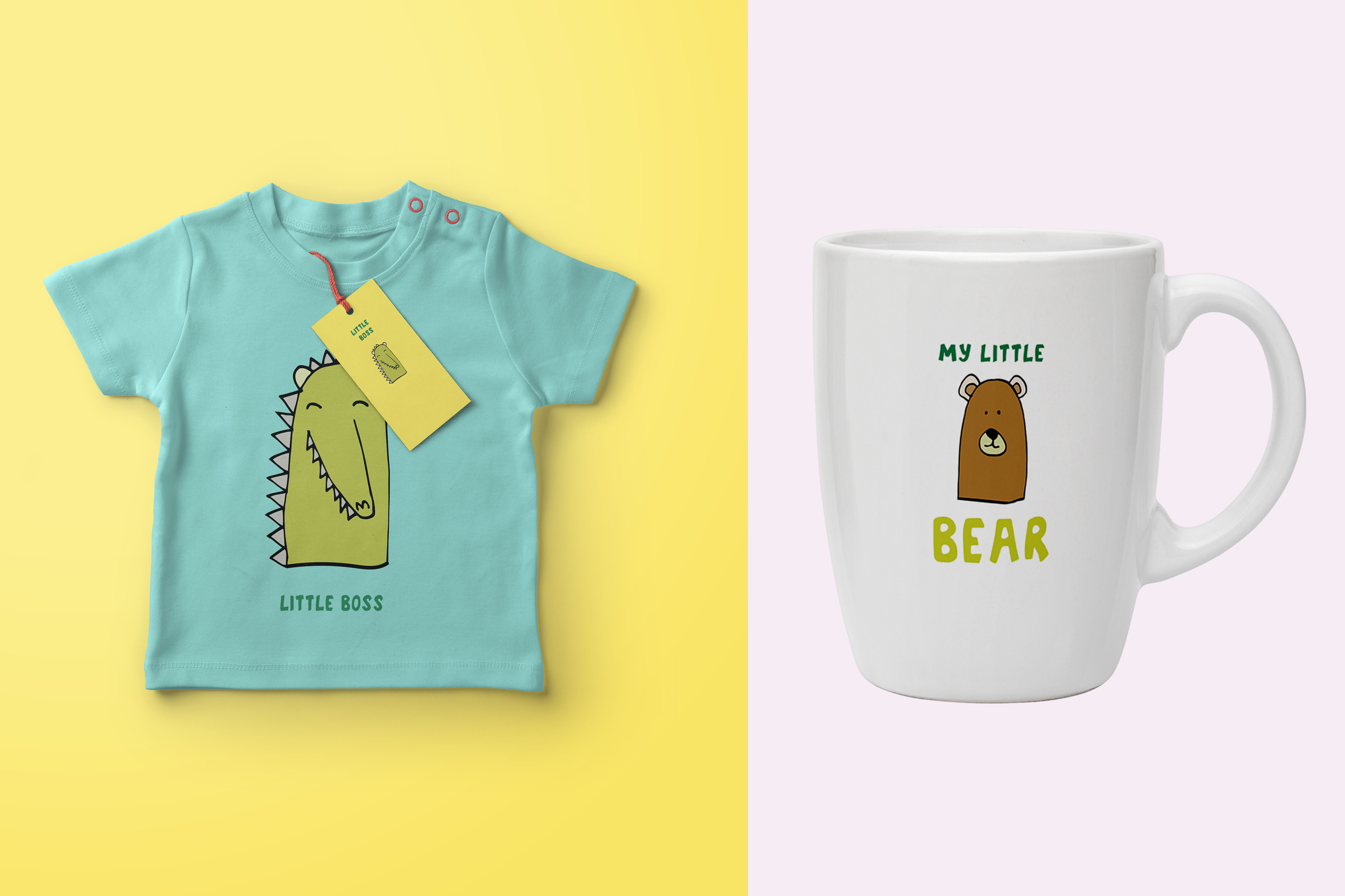 Kids' Room typeface with Outline and Solid versions example image 6