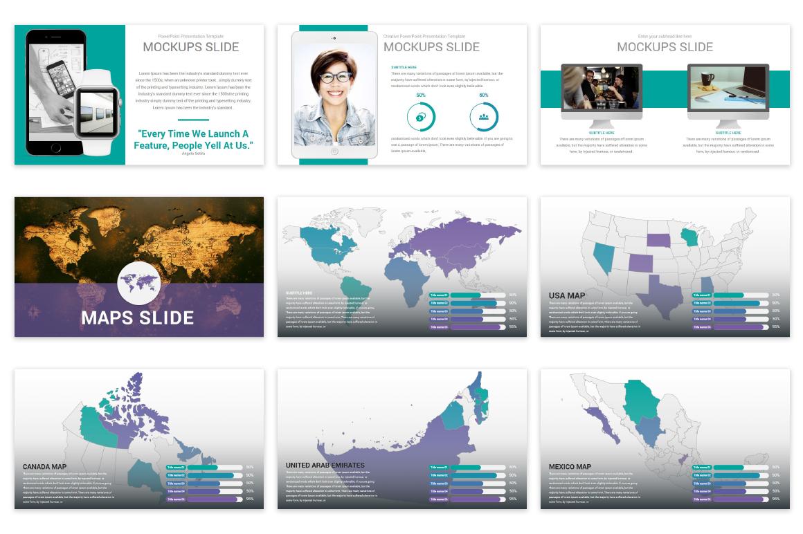 Mega Solutions Keynote Template example image 12
