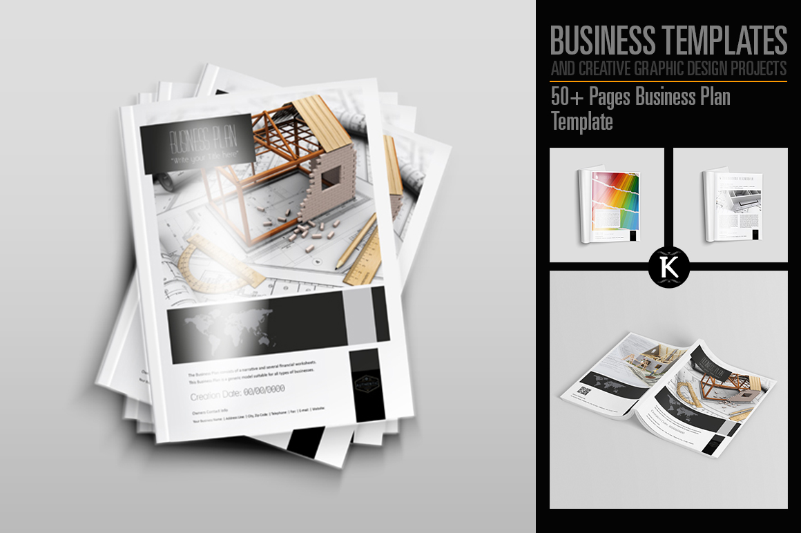 50+ Pages Business Plan Template example image 1