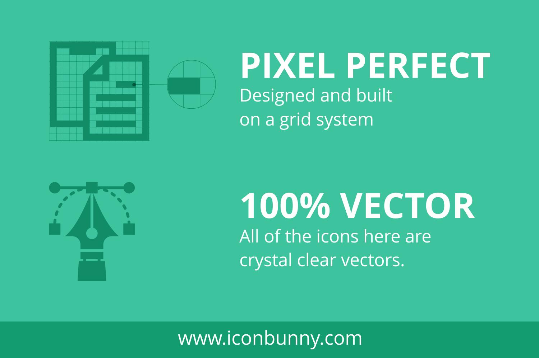 55 Computer & hardware Flat Icons example image 6
