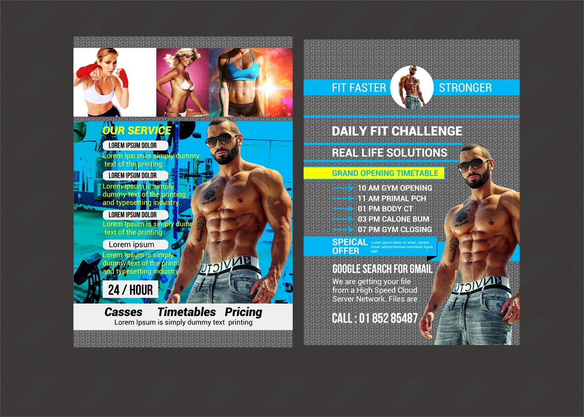 Fitnees Flyer example image 4