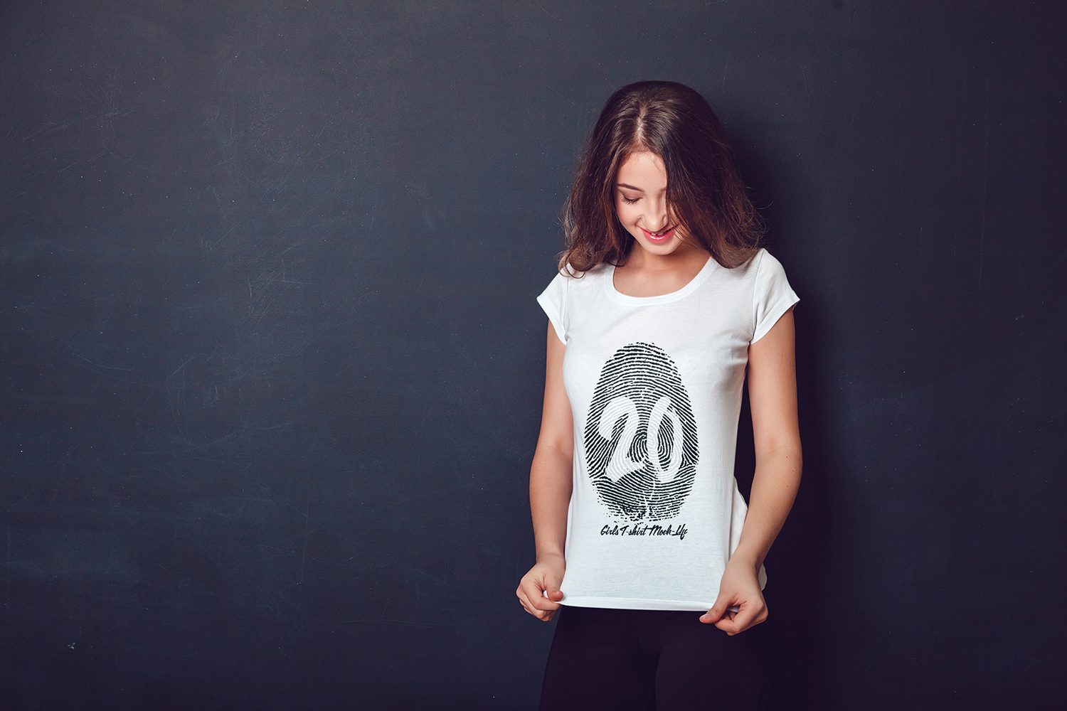 20 Top Girls T-Shirt Mock-Up example image 12