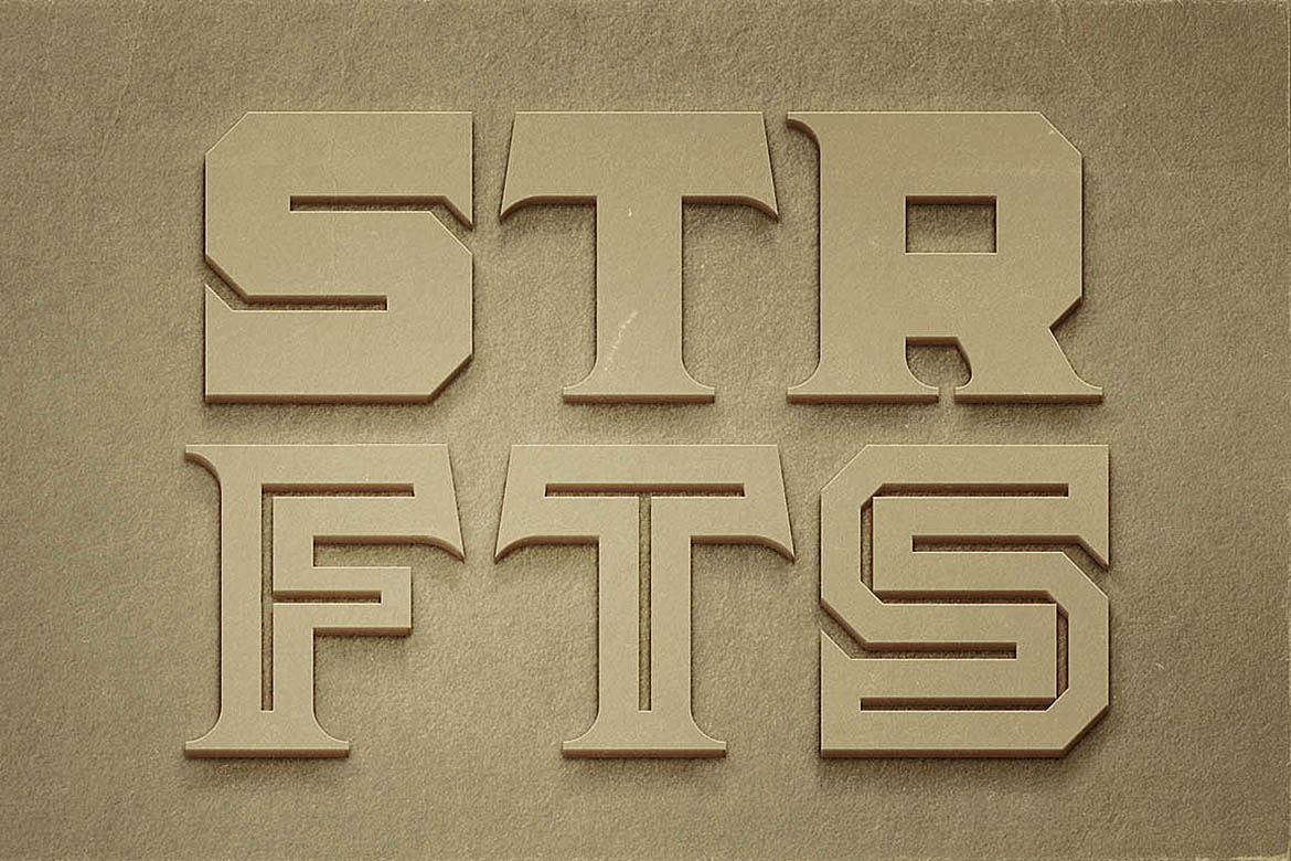 Strife - Display Font example image 3