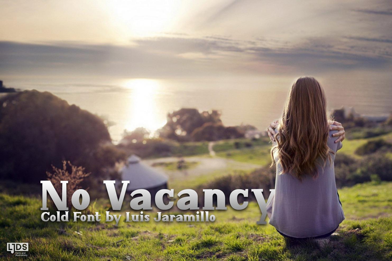 No Vacancy example image 1