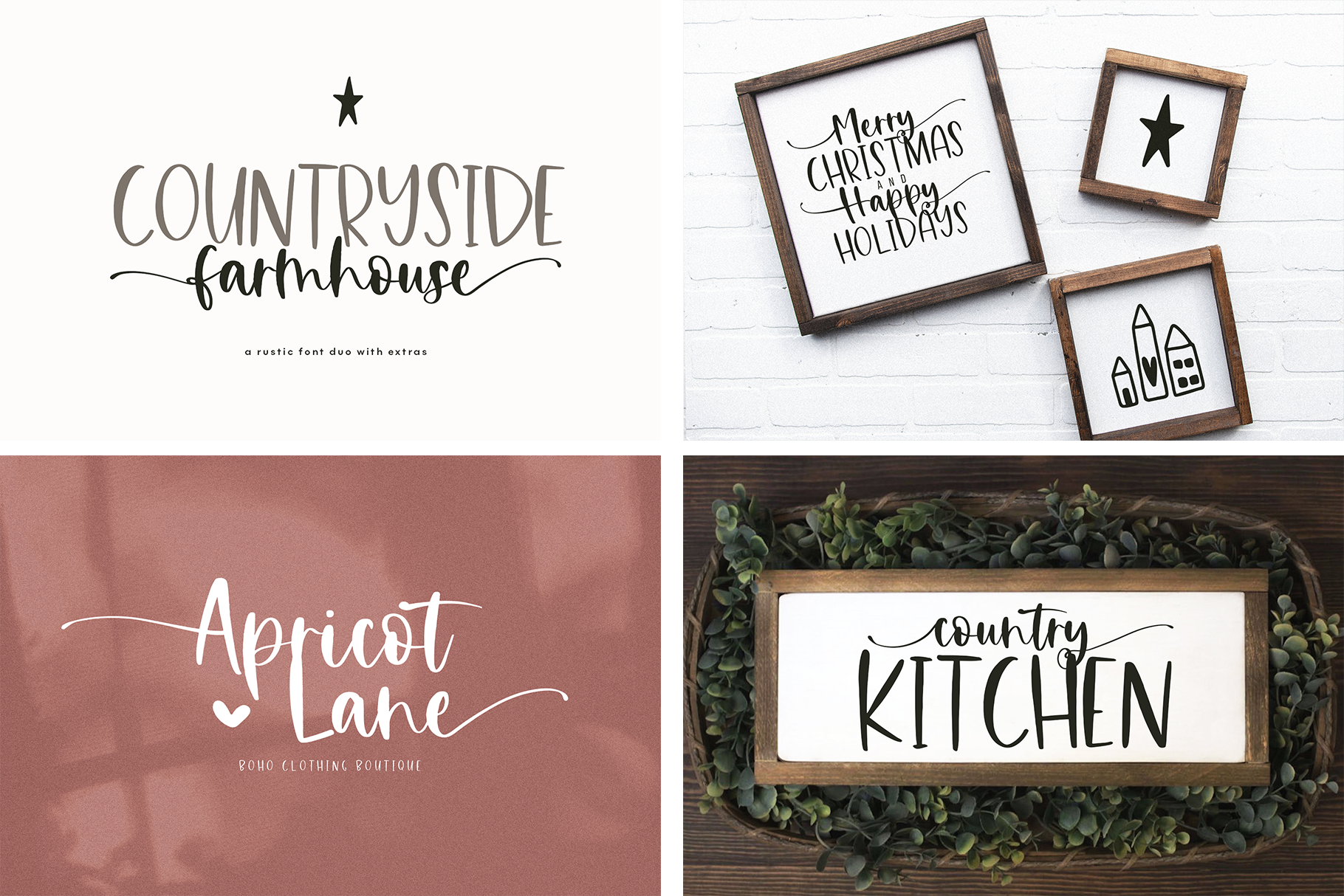 Font Bundle - Handwritten Fonts for Crafters! example image 3