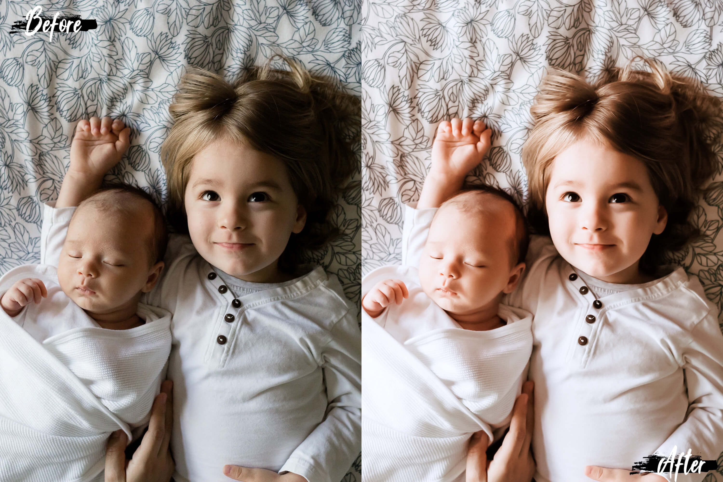 10 Family & Kids Photoshop Actions, ACR and LUT presets example image 4
