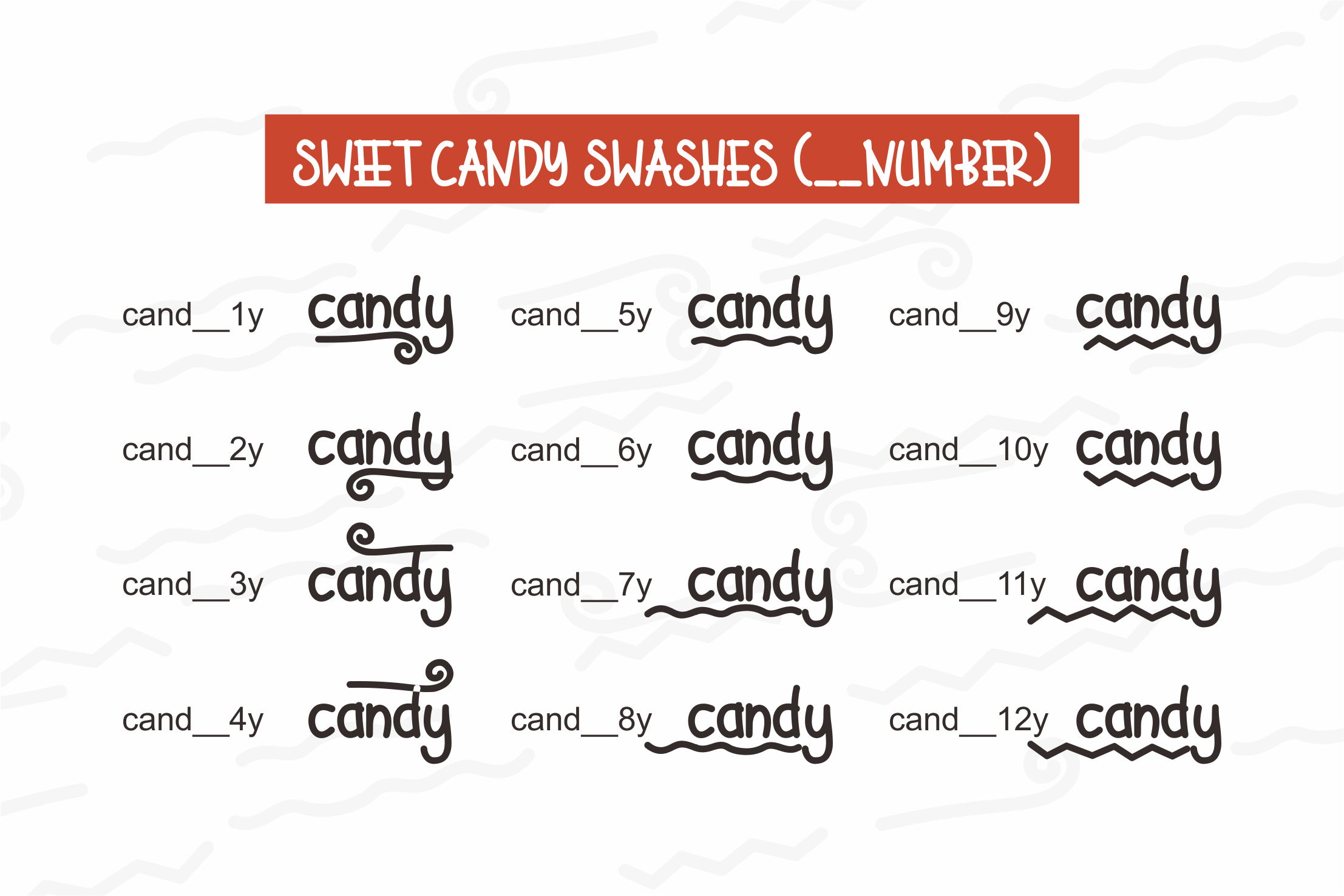 Sweet Candy example image 7