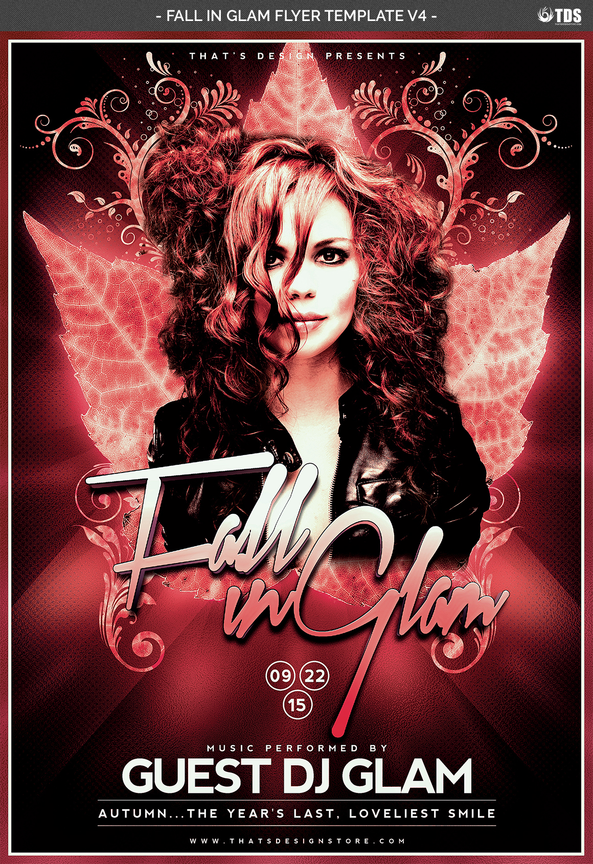 Fall in Glam Flyer Template V4 example image 7