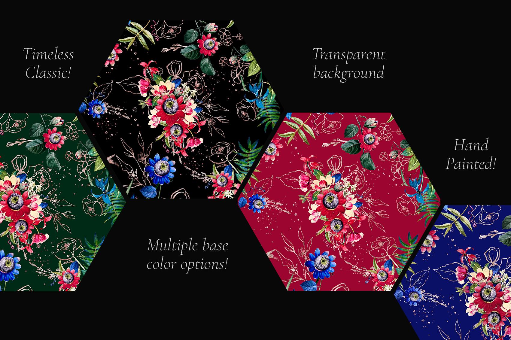 Flora| Arrangements vintage and gold Rose example image 4