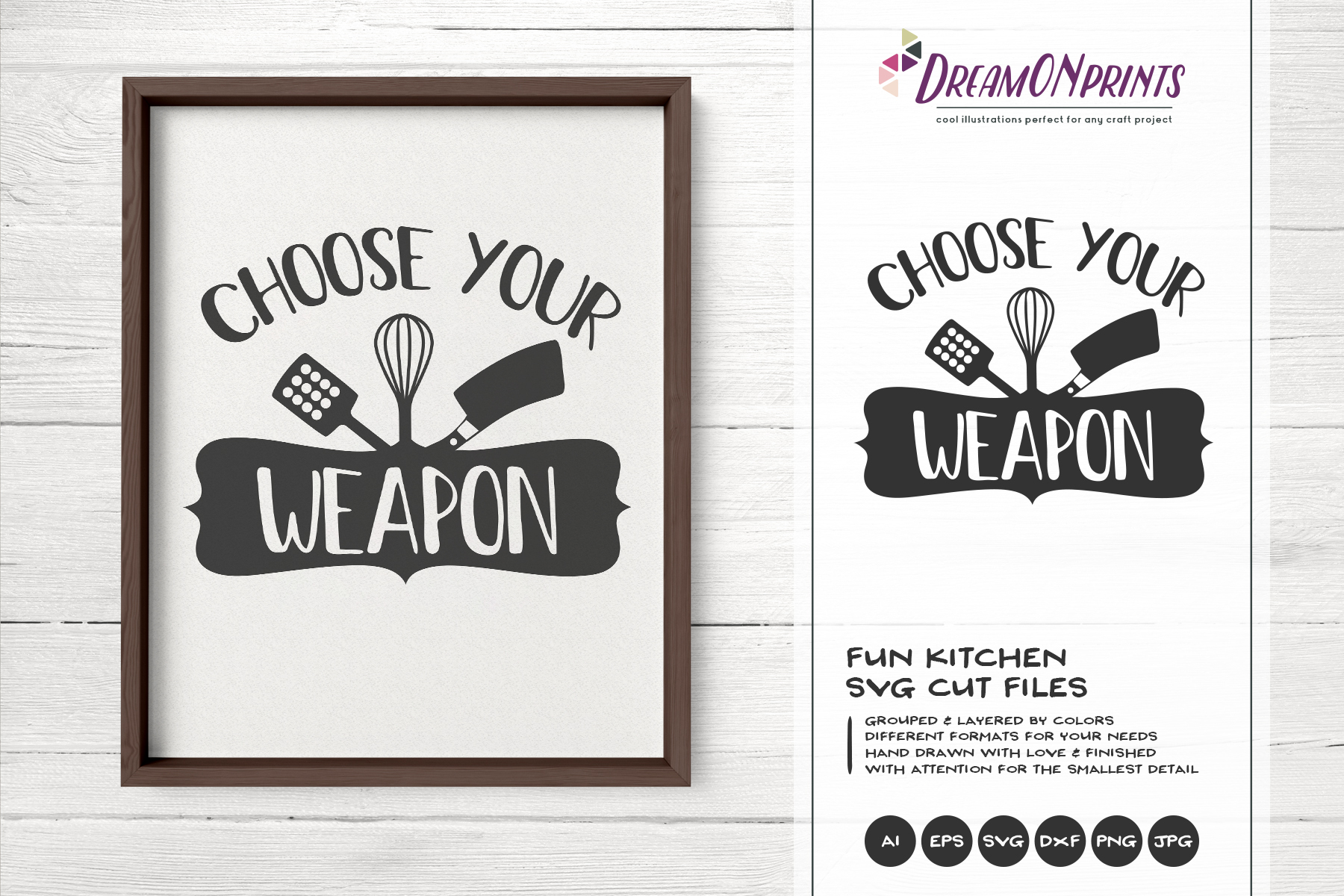 Kitchen SVG Bundle - Kitchen Sign Making SVG example image 7
