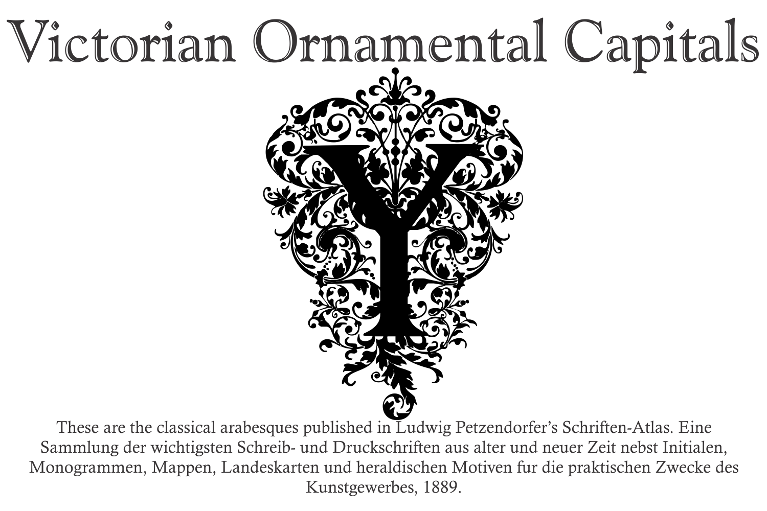Victorian Ornamental Capitals example image 4