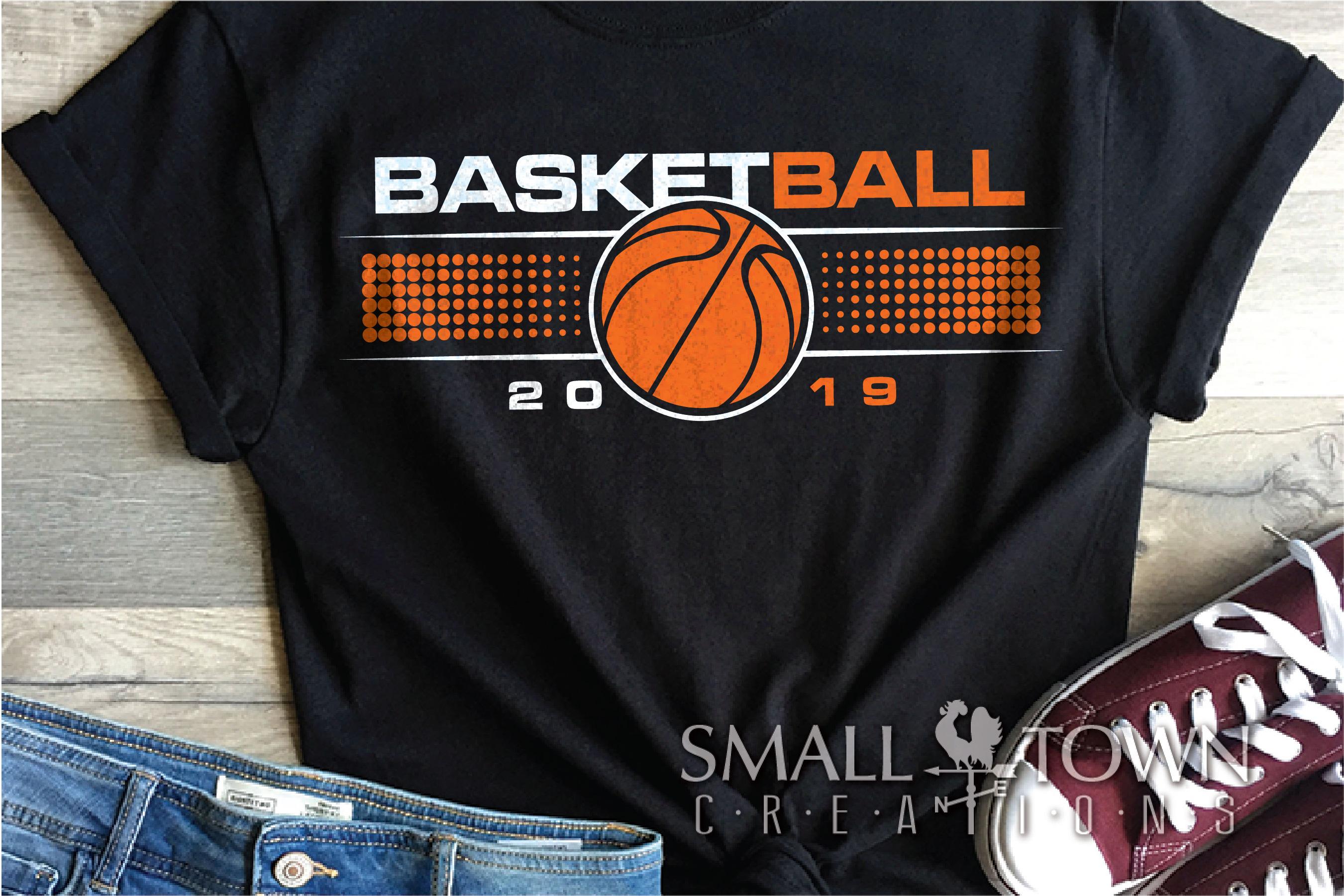 Basketball, Sports ball, sport team logo, PRINT, CUT, DESIGN example image 1