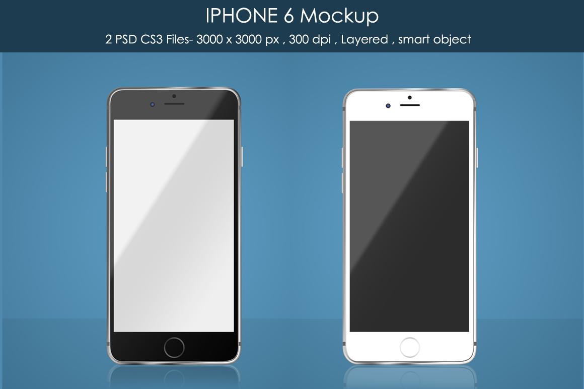 IPHONE 6 Mockup example image 1