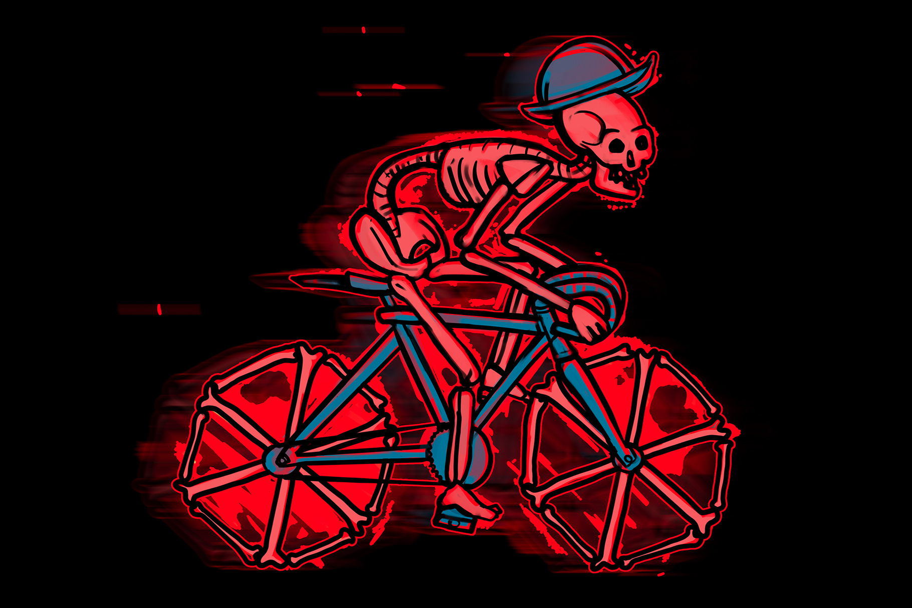 SKELETON BICYCLES example image 3