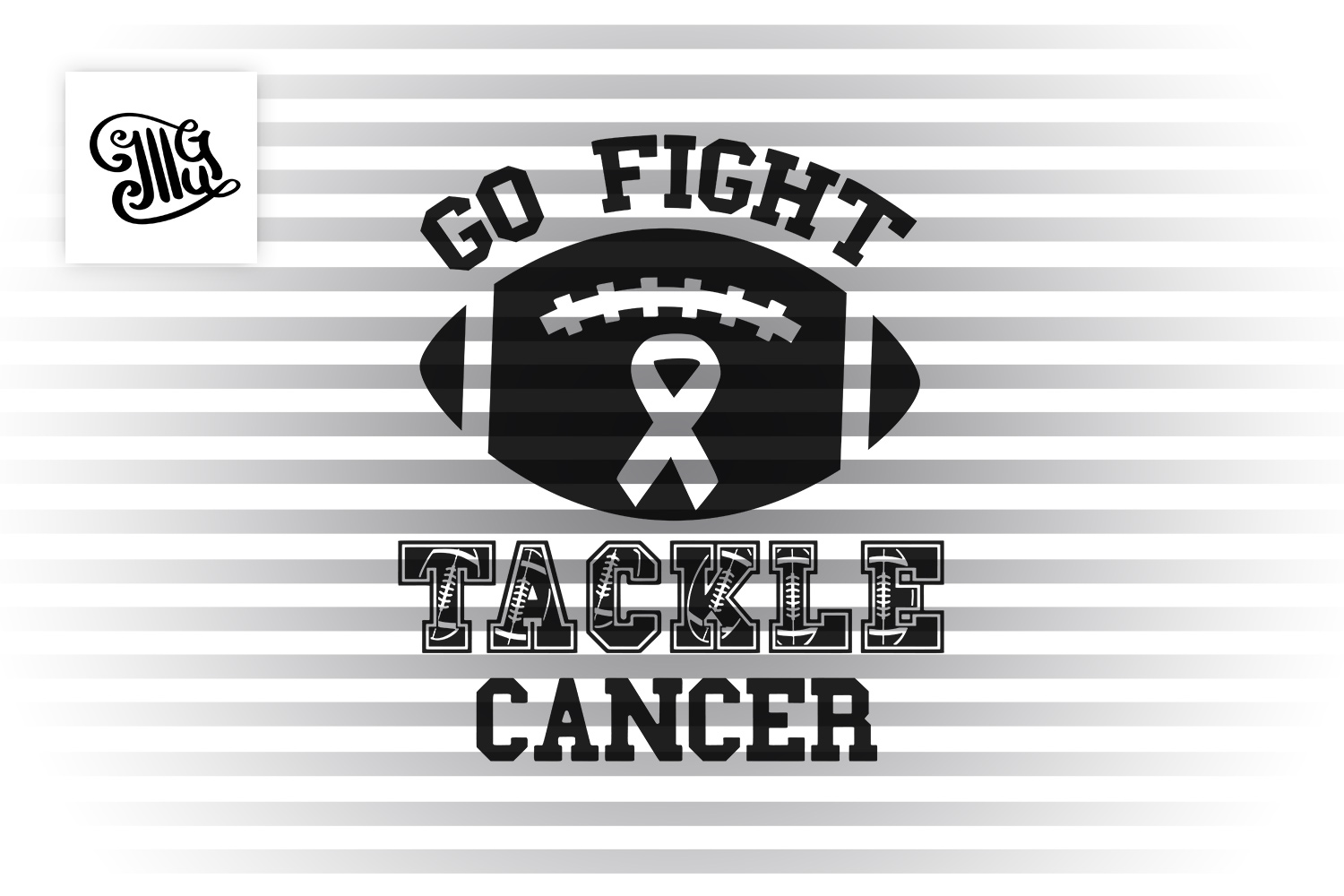 Go fight tackle cancer example image 2