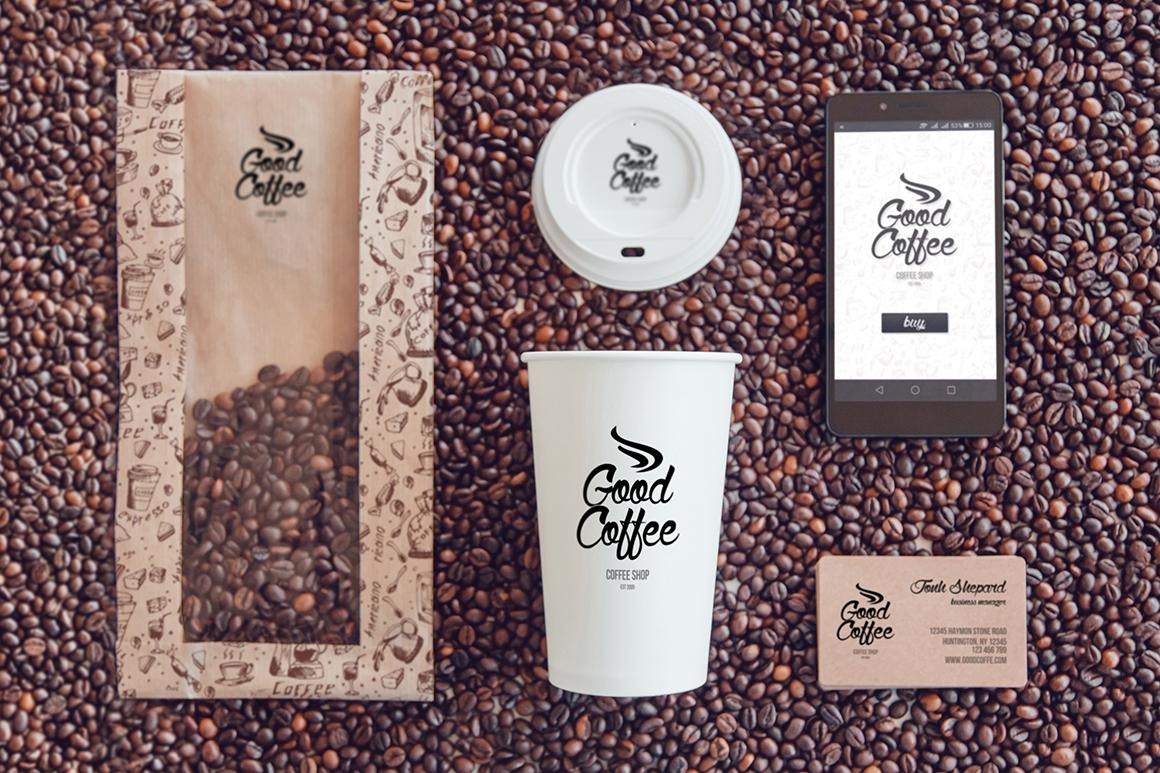 Coffee Branding Mock-up example image 14