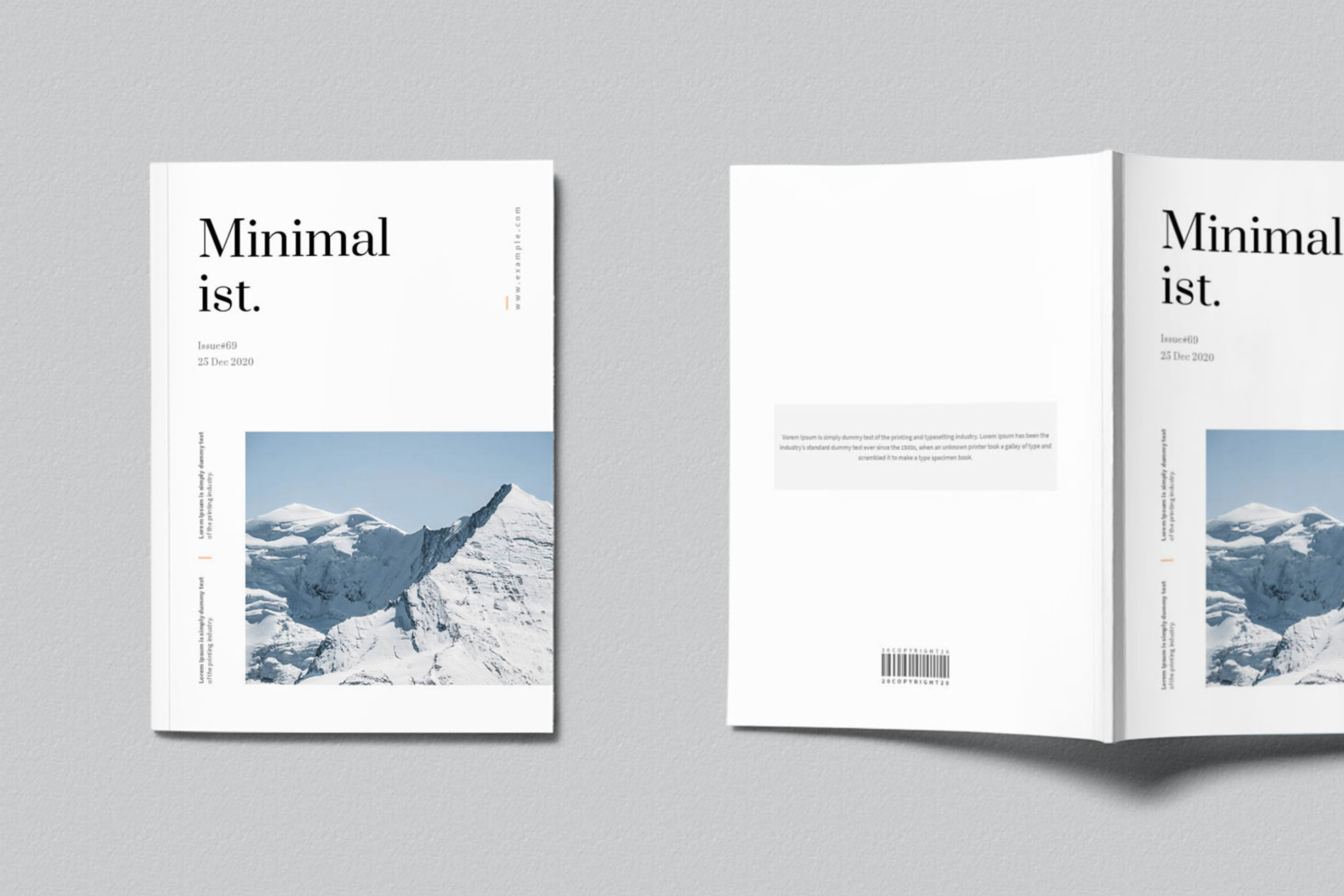 Modern InDesign Magazine Template example image 2