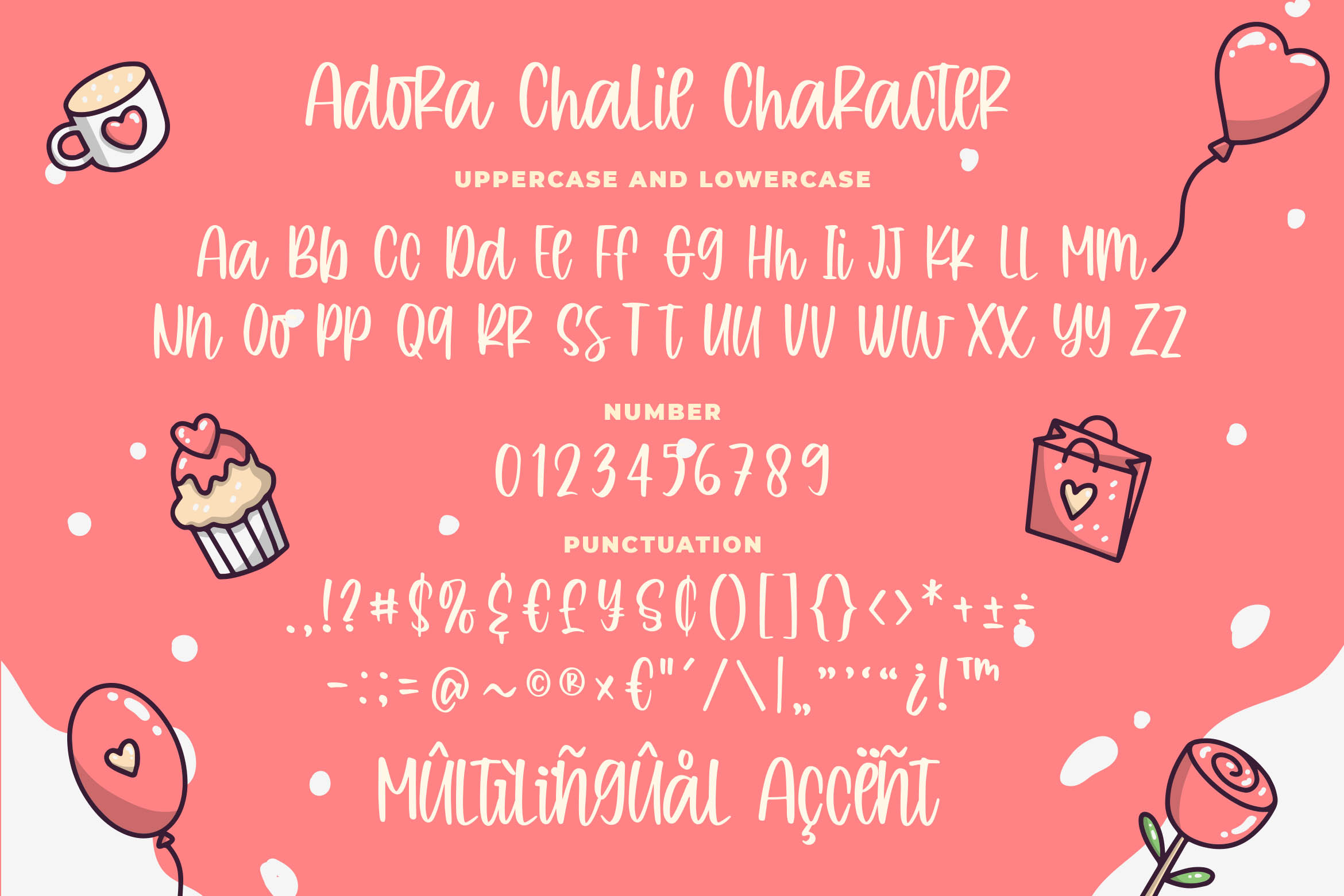 Adora Chalie - Playful Bouncy Font example image 6