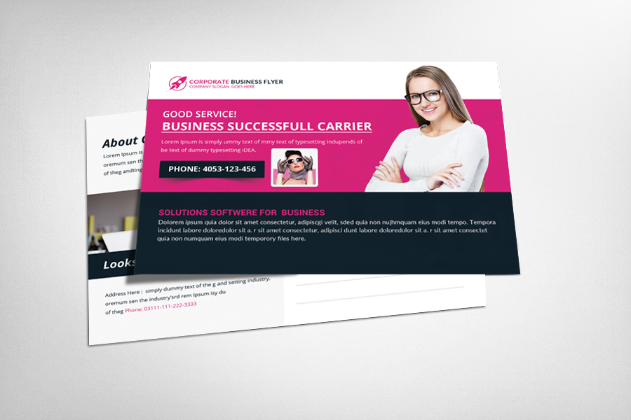 Trainer Postcard Template example image 1