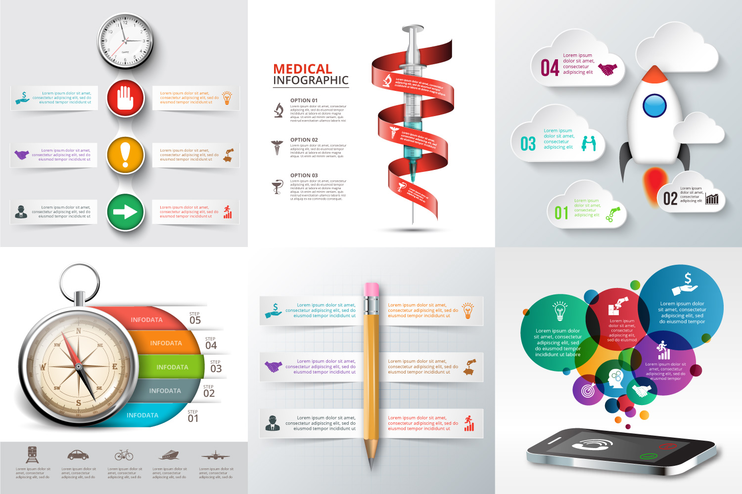 30 business infographic templates example image 5