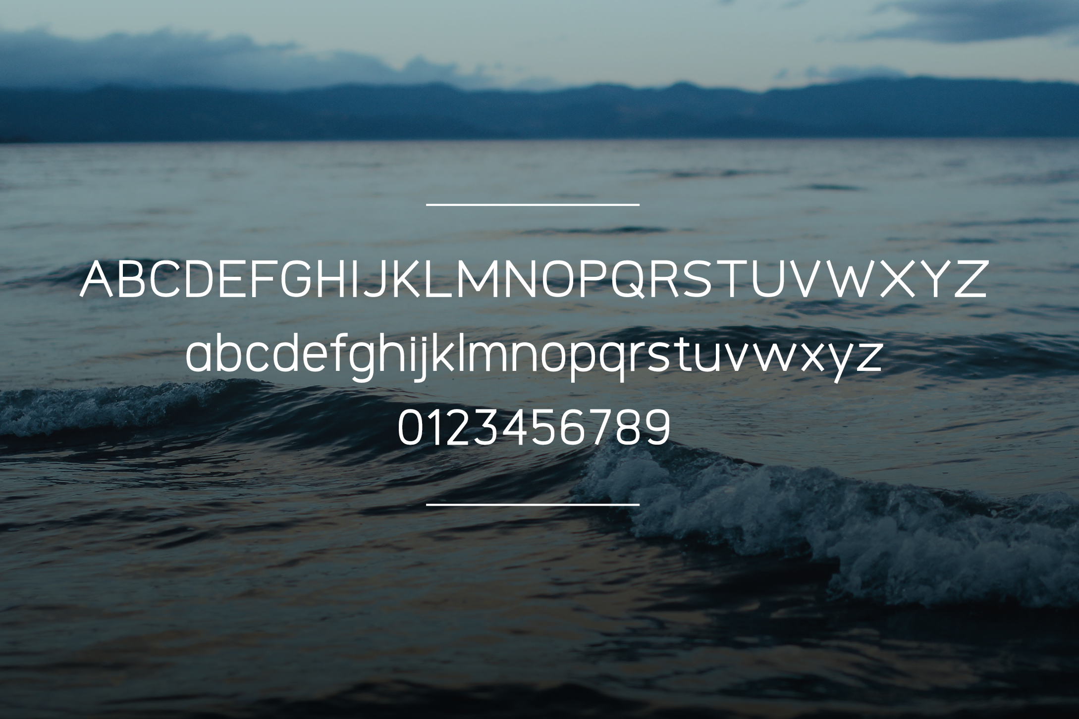 Logico-Sans Simple Modern Font example image 3