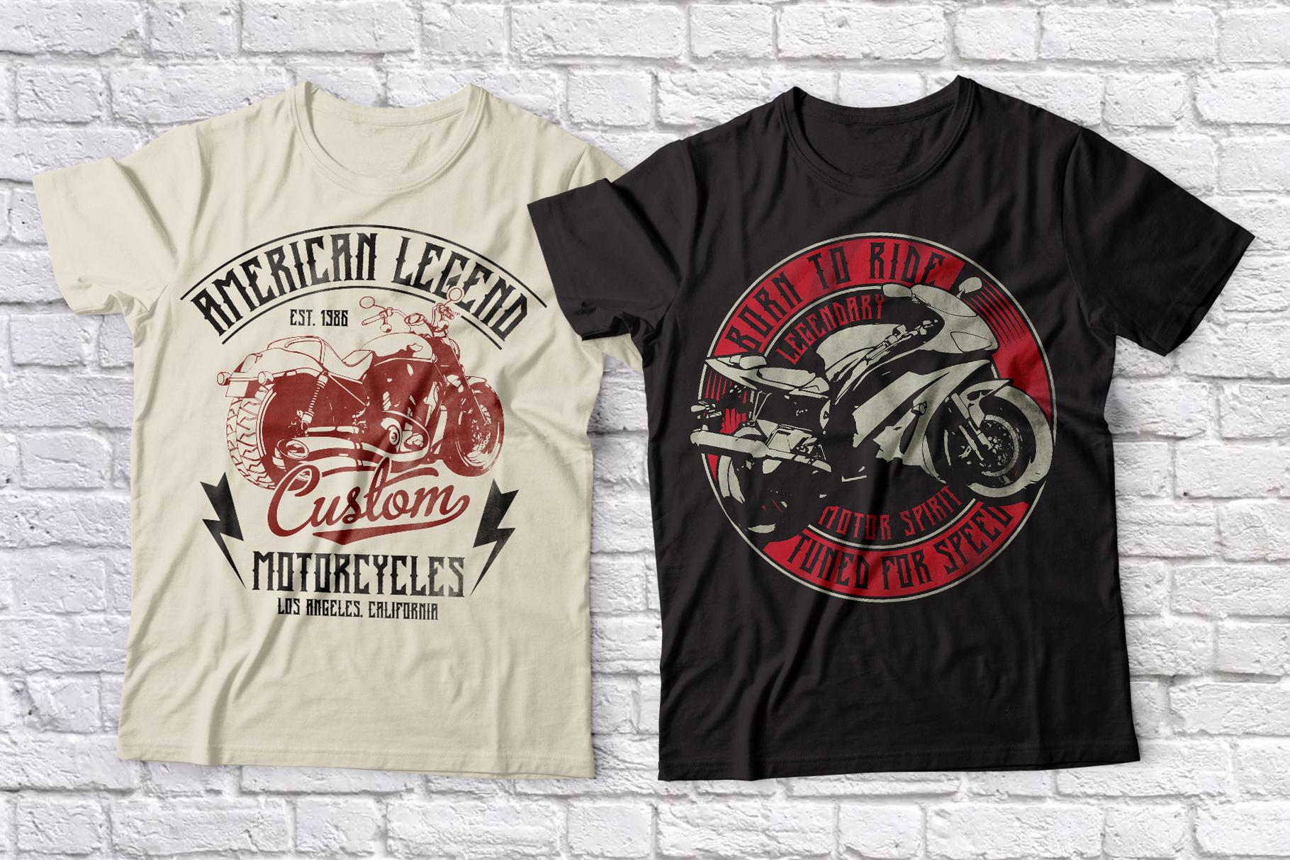 Old Biker Label Font plus Bonus example image 6