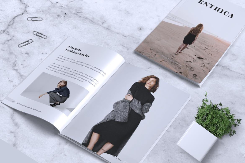 ENTHICA Fashion Magazines example image 12
