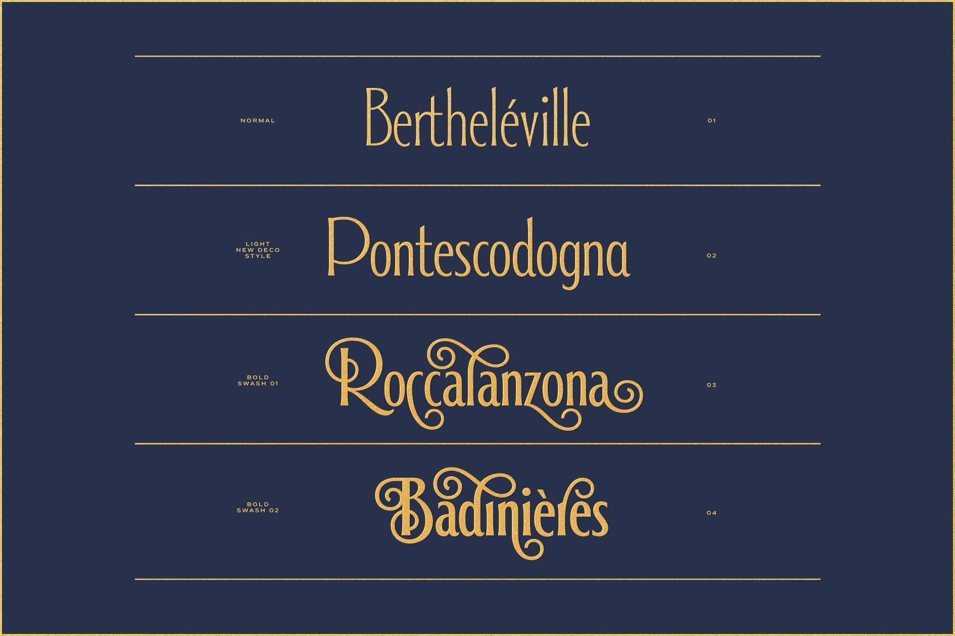 Alathena Font Family example image 6