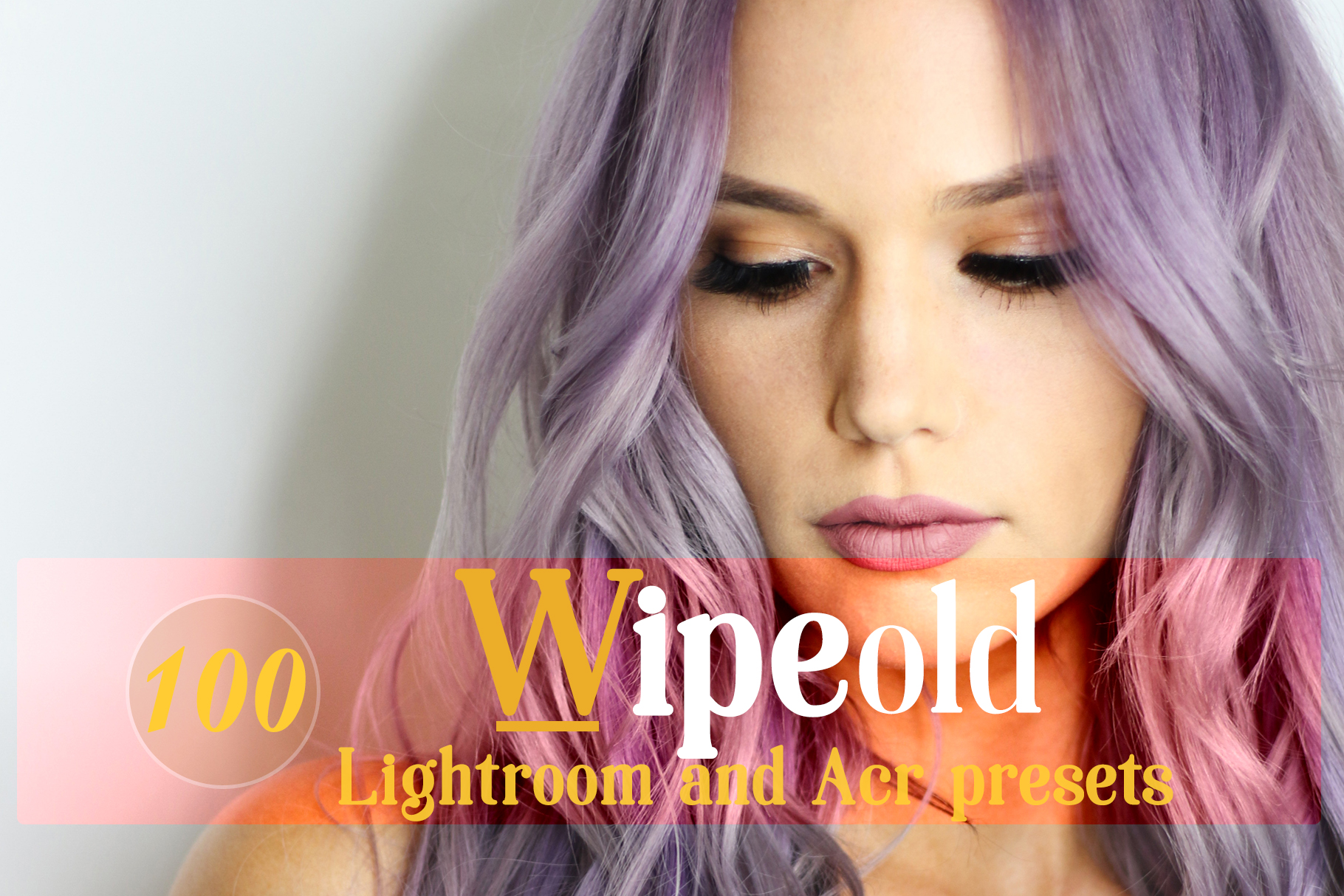 Wipeold Lightroom 100 and ACR 100 Presets example image 1