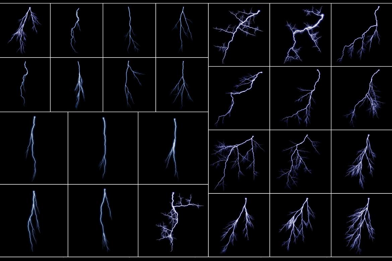 100 Lightning Overlays Vol. 1 example image 4