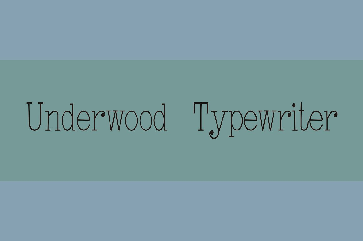 Underwood Typewriter example image 2
