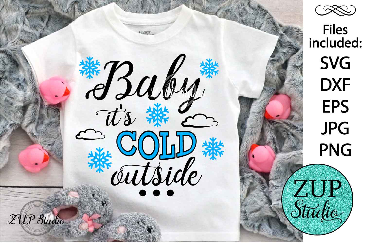 Baby it's cold outside cutting files svg 37 example image 1