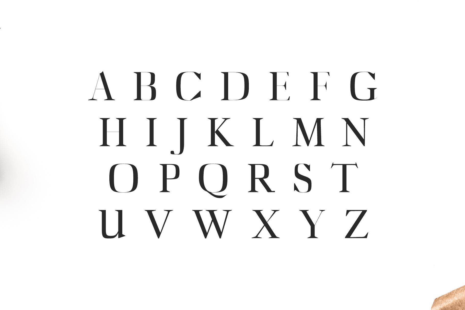 Abner Serif 6 Font Family example image 2
