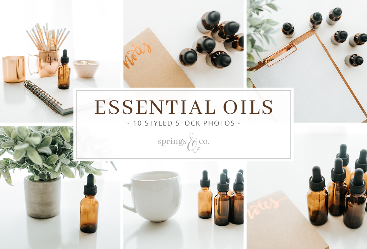 Essential Oils Stock Photo Bundle example image 1