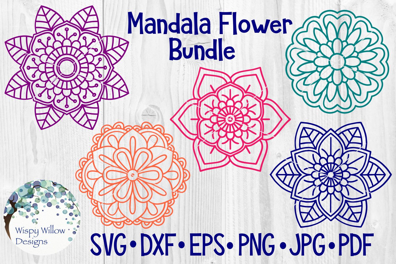 Huge Mandala Bundle | 36 SVG Cut Files example image 2