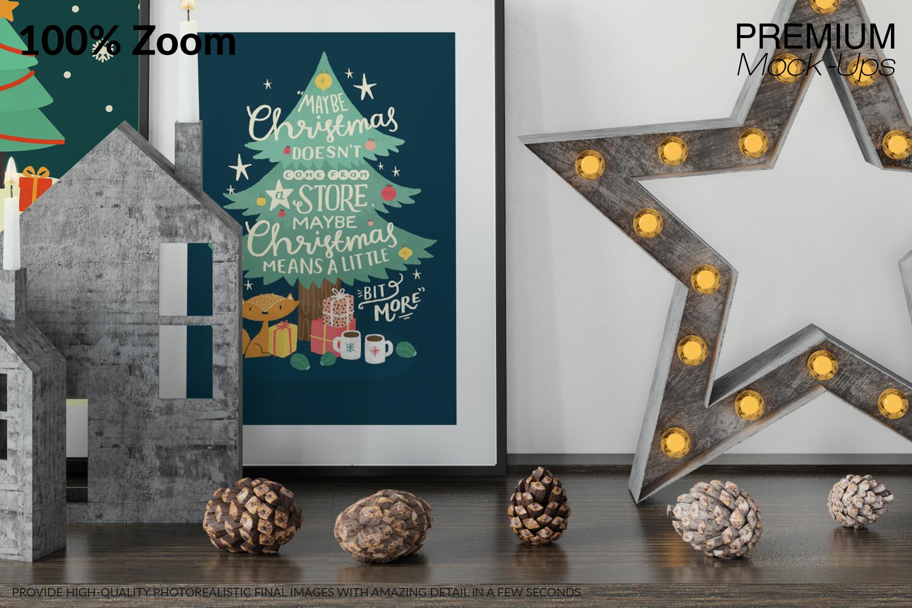 Christmas Frames & Wall Set example image 4