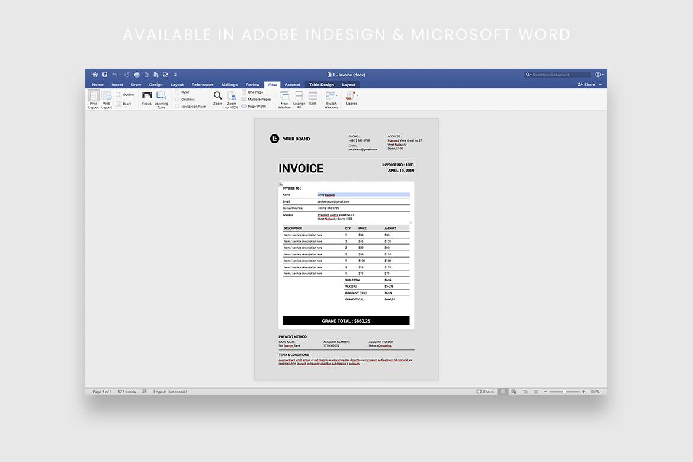 Invoice example image 4