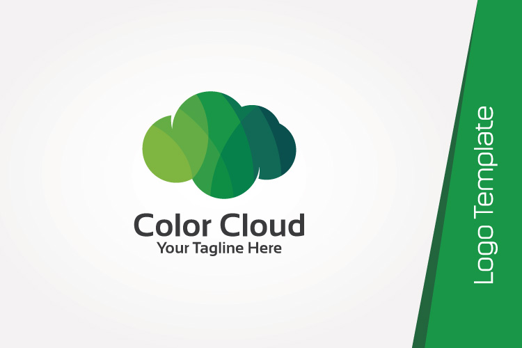 Colorful Cloud Logo Template example image 4