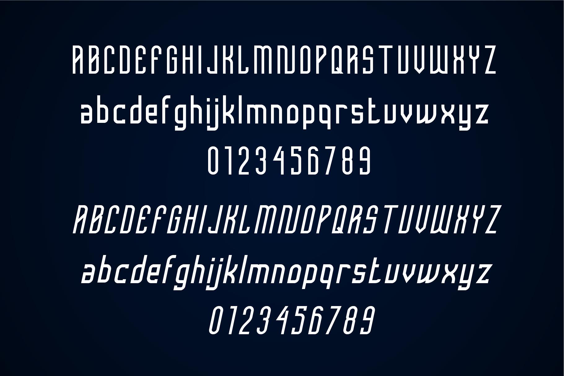 Femilia - Modern Serif Sports Font Typeface example image 3