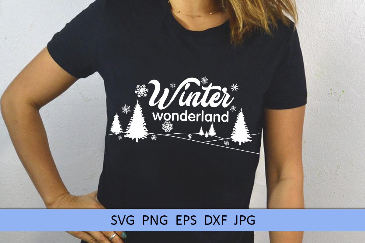 Christmas svg Winter wonderland svg Winter svg Snowflake svg example image 5