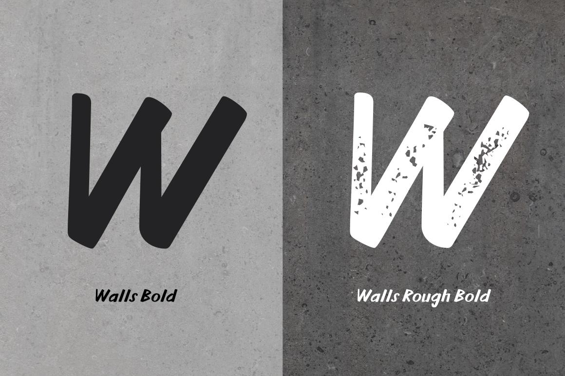 Walls Bold & Walls Rough Bold example image 5