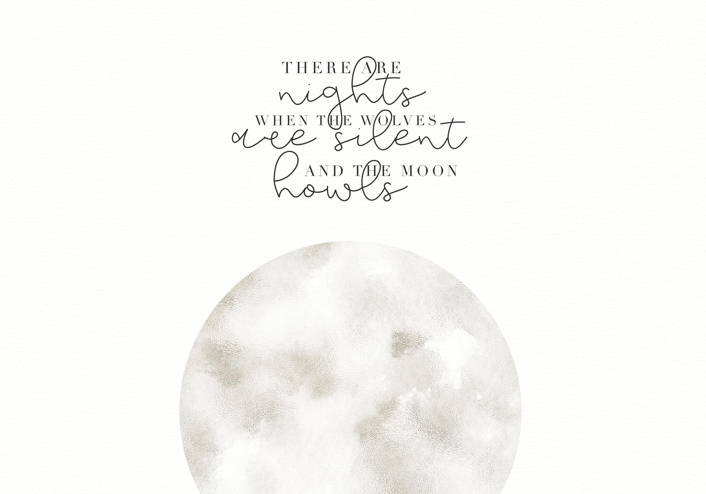 Moonwake - Handwritten Font example image 2