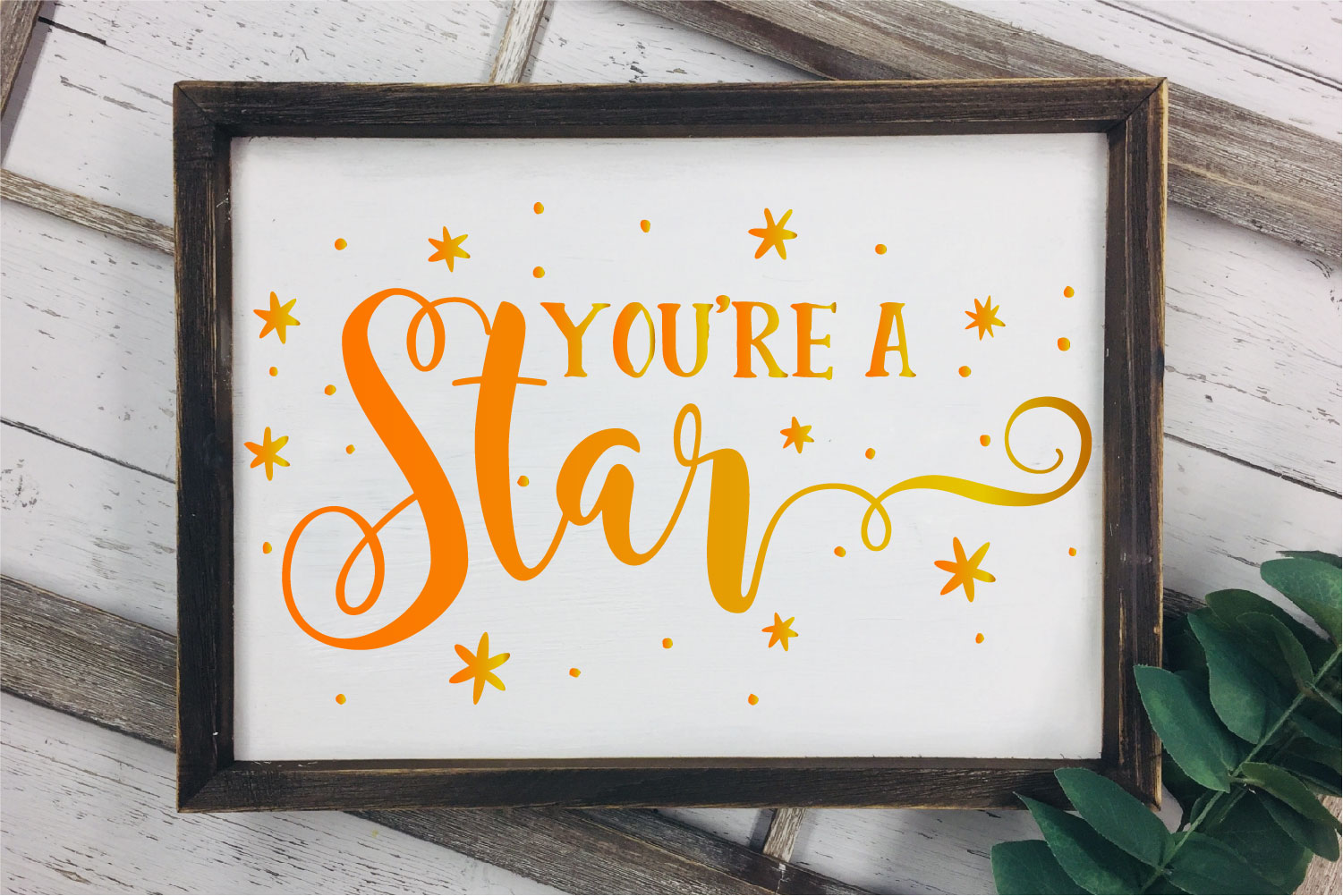 You're A Star SVG, Be Awesome Sublimation example image 2